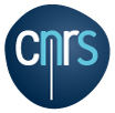 Logo du CNRS (Centre national de la recherche scientifique)