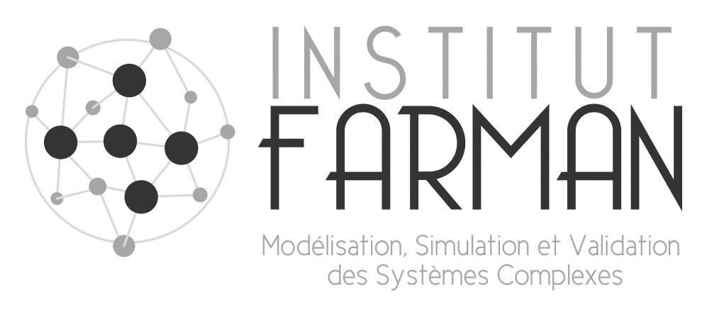 Logo Farman gris et noir