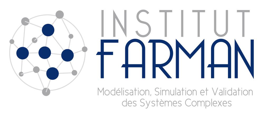 Logo Farman gris et bleu