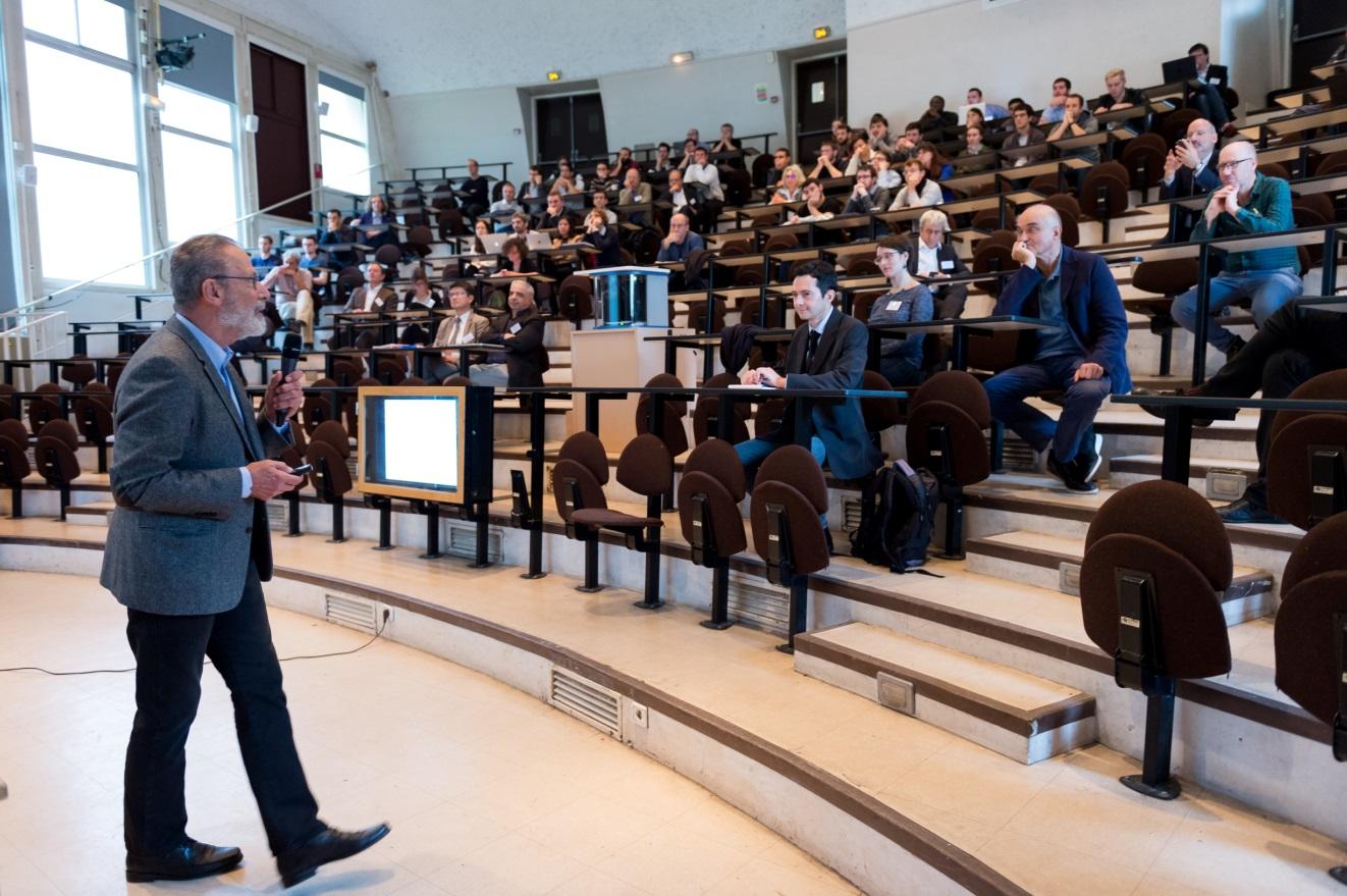 Conférence d'Yves Meyer, 10 ans de l'Institut Farman, 27 septembre 2017